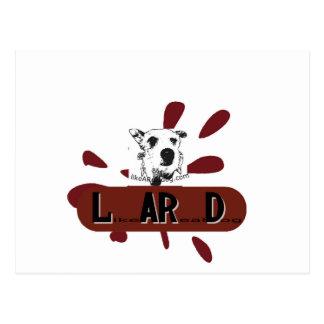 logotipo del likeARealDog Postal