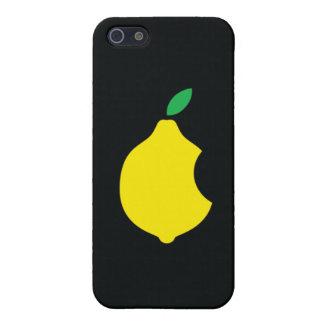 logotipo del limón del arte de iPod iPhone 5 Funda