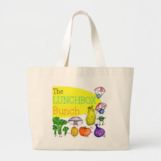 Logotipo del manojo de la caja del almuerzo bolsas de mano