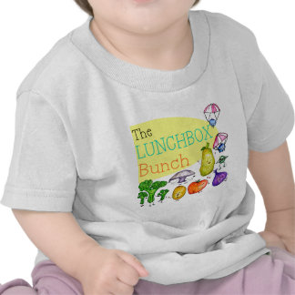 Logotipo del manojo de la caja del almuerzo camiseta