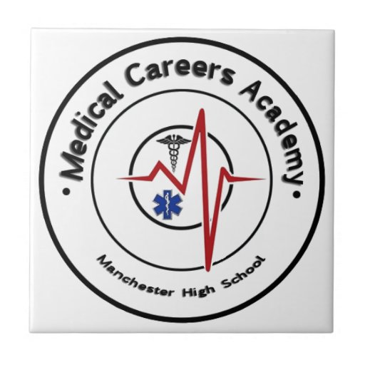 Logotipo del MCA del MHS redondo Azulejos Cerámicos