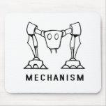 Logotipo del mecanismo tapetes de raton