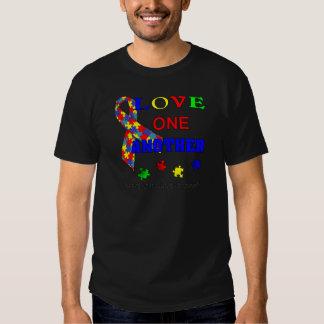 Logotipo del mes de la conciencia del autismo camisas