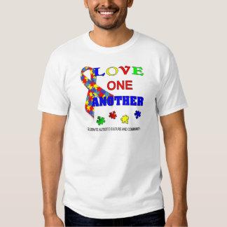 Logotipo del mes de la conciencia del autismo playera