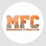 Logotipo del MFC Pegatina Redonda