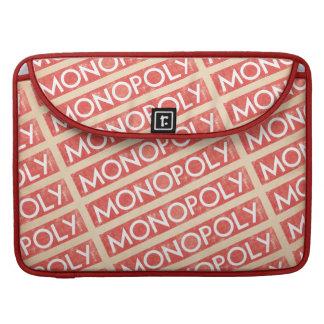 Logotipo del monopolio del vintage fundas para macbook pro
