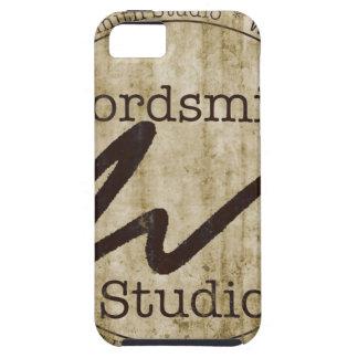 Logotipo del moreno de WSS iPhone 5 Case-Mate Coberturas