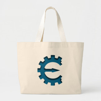 Logotipo del motor del tramposo bolsas