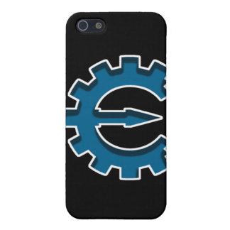 Logotipo del motor del tramposo iPhone 5 fundas