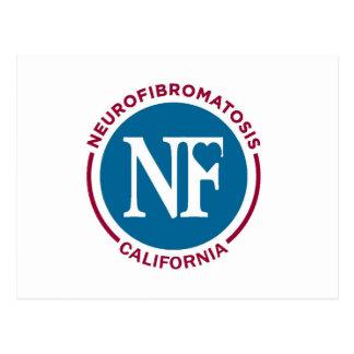 Logotipo del N-F California Tarjeta Postal