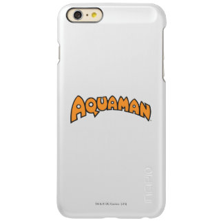 Logotipo del naranja de Aquaman