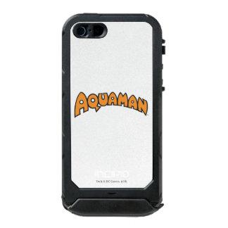 Logotipo del naranja de Aquaman Funda Para iPhone 5 Incipio ATLAS ID