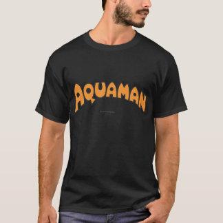 Logotipo del naranja de Aquaman Playera