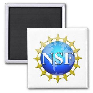 Logotipo del NSF por la petición Imán Cuadrado