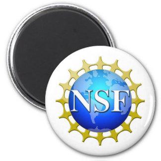 Logotipo del NSF por la petición Imán Redondo 5 Cm