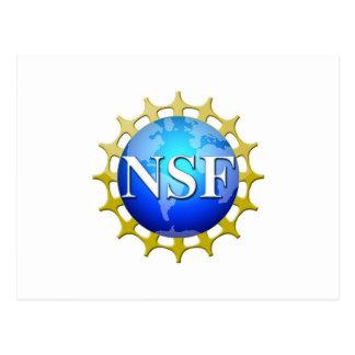 Logotipo del NSF por la petición Postales