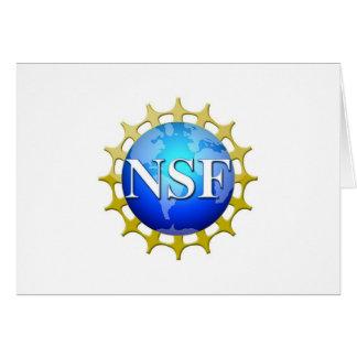 Logotipo del NSF por la petición Tarjeta Pequeña