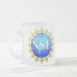 Logotipo del NSF por la petición Taza De Cristal