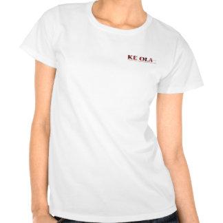 Logotipo del Ola de KE de las señoras T Shirt