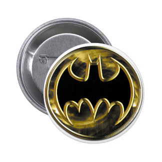 Logotipo del oro de Batman Pins