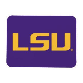 Logotipo del oro de LSU Imán Flexible