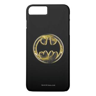 Logotipo del oro del símbolo el   de Batman Funda iPhone 7 Plus