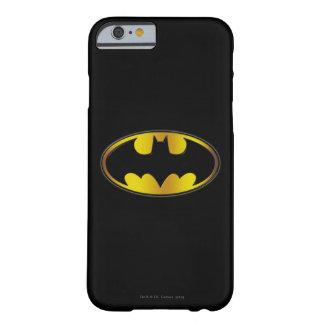 Logotipo del óvalo de Batman Funda Para iPhone 6 Barely There