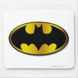 Logotipo del óvalo de Batman Tapete De Ratones