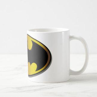Logotipo del óvalo de Batman Taza Básica Blanca