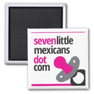 Logotipo del pacificador de SevenLittleMexicans Iman De Frigorífico