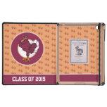 Logotipo del pájaro de Hokie del año de la clase iPad Protector