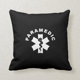 Logotipo del paramédico el ccsme cojín