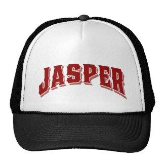 Logotipo del parque nacional de jaspe gorras de camionero