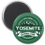 Logotipo del parque nacional de Yosemite Imanes