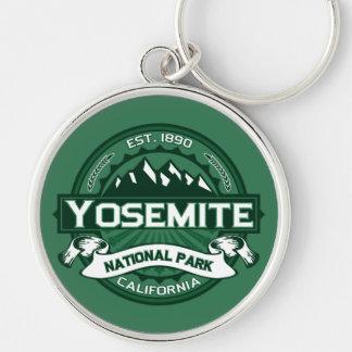 Logotipo del parque nacional de Yosemite Llavero