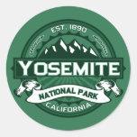 Logotipo del parque nacional de Yosemite Pegatina