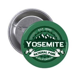 Logotipo del parque nacional de Yosemite Pin Redondo 5 Cm