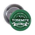 Logotipo del parque nacional de Yosemite Pin Redondo De 2 Pulgadas