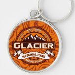 Logotipo del Parque Nacional Glacier Llaveros