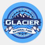 Logotipo del Parque Nacional Glacier Pegatinas