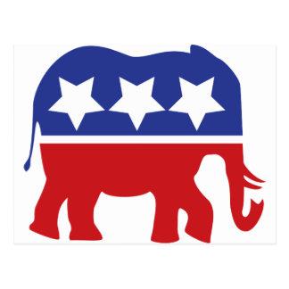 ¡Logotipo del Partido Republicano - actualizado! Postales