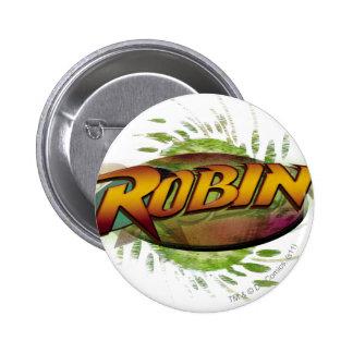 Logotipo del petirrojo pins