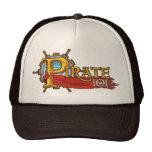 Logotipo del pirata 101 gorros