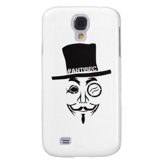 Logotipo del pirata informático de AntiSec AntiSec Funda Para Galaxy S4