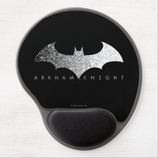 Logotipo del pixel del caballero de Batman Arkham Alfombrillas Con Gel