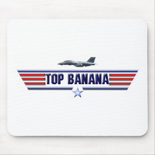 Logotipo del plátano superior alfombrilla de ratones