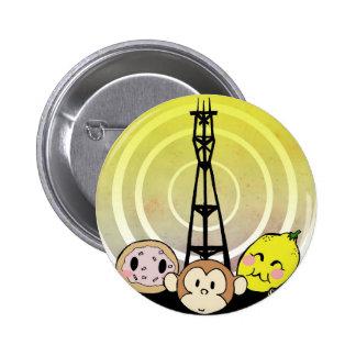 Logotipo del poder pin