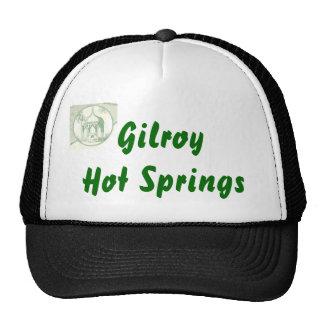 Logotipo del pozo del mineral GilroyHotSprings_193 Gorra