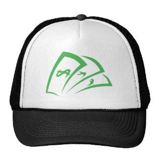 Logotipo del prestamista en estilo del dibujo del  gorras de camionero