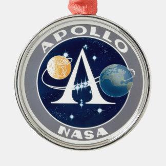 Logotipo del programa Apollo Ornamento Para Arbol De Navidad